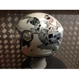 casque jet Ed & Hardy by Christian Audigier  T:S