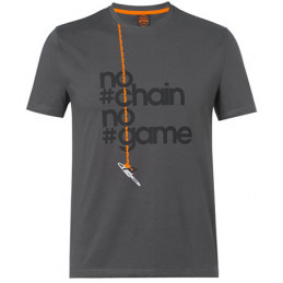"T-shirt ""NO CHAIN NO GAME"" S à XXL Stihl"