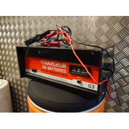 263004110 chargeur professionnel 30 AMP 12 / 24V N / E AMPM SH250 Absaar