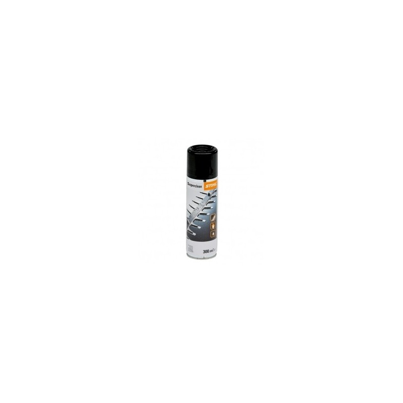 Superclean 300ml anti résine Spray double fonction Stihl