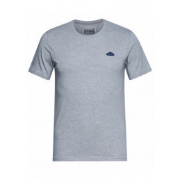 T-SHIRT ICON GRIS
